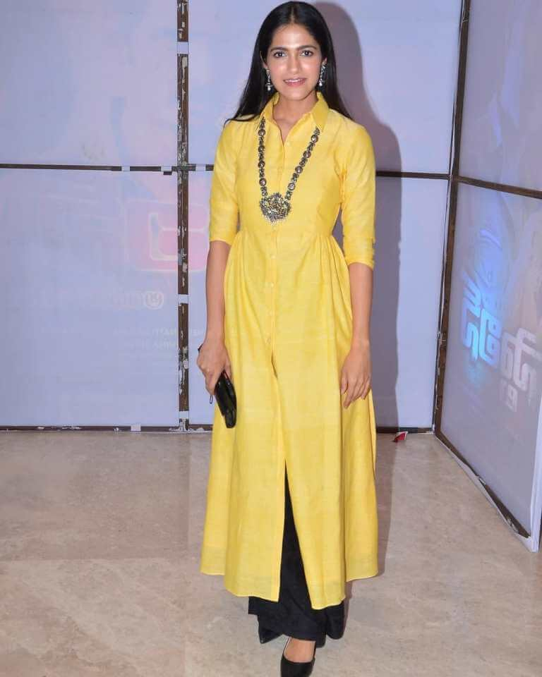 Simran Choudhary At Stalin Movie Pre-release Event