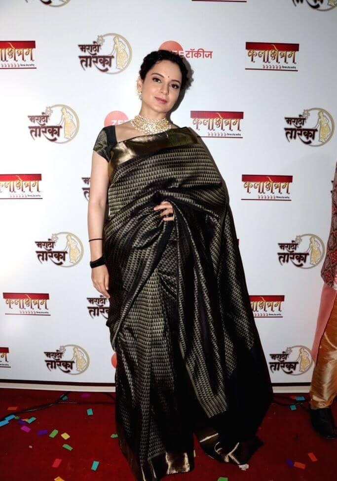 Kangana Ranaut At Marathi Taraka Awards