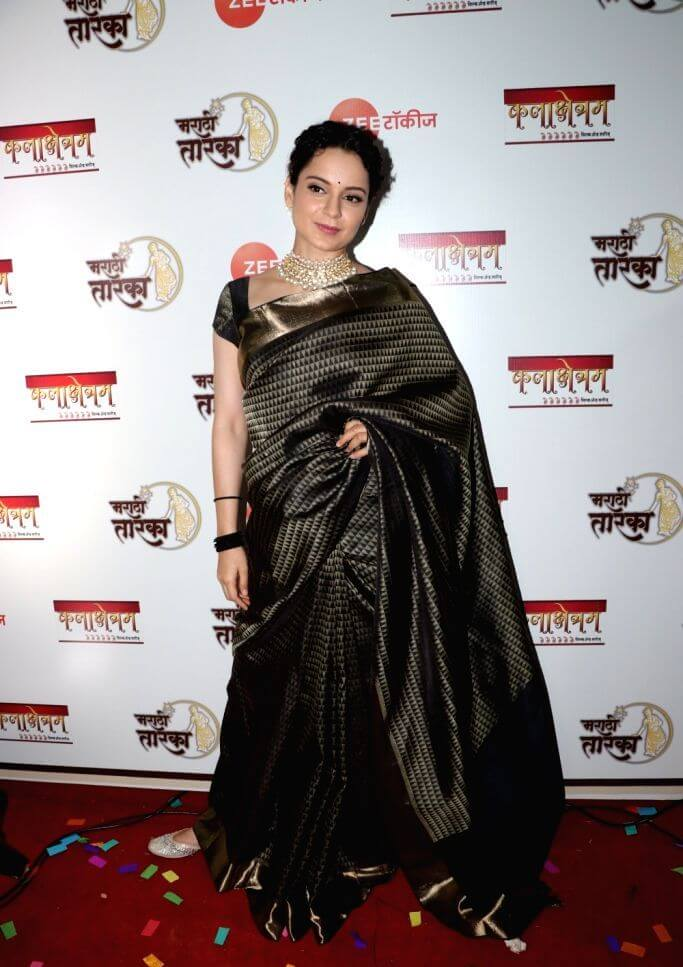 Kangana Ranaut At Marathi Awards