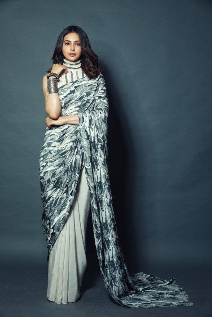 Rakul Preet Recent Photos In Designer Saree