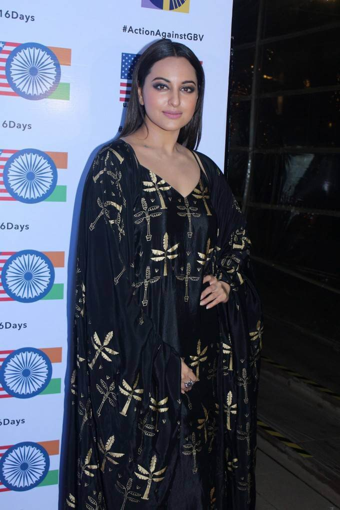 Sonakshi Sinha Recent Images At Short Film Festival Awards Night