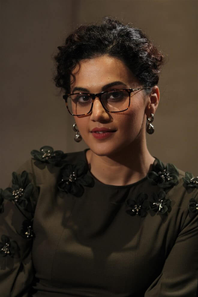 Tapsee Pannu At Badla Movie Interview