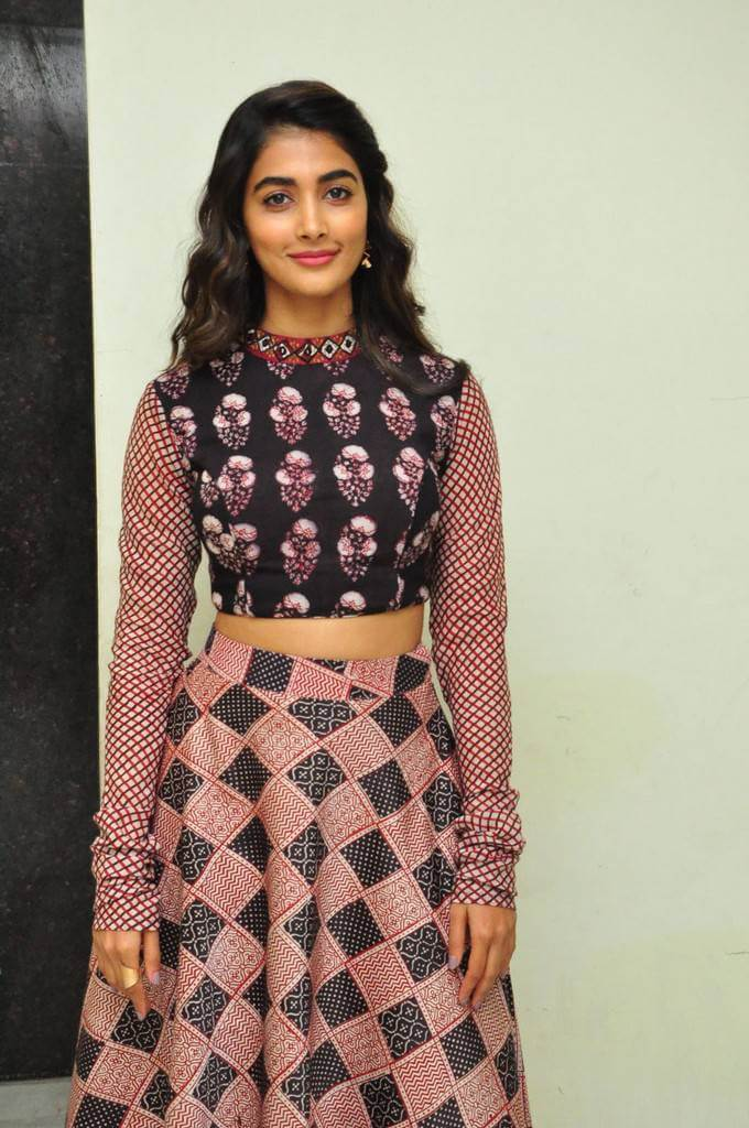 Pooja Hegde At Saakshyam Movie Song Launch Event