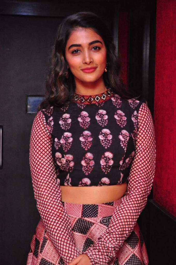 Tollywood Heroine Pooja Hegde At Saakshyam Movie Song Launch Event