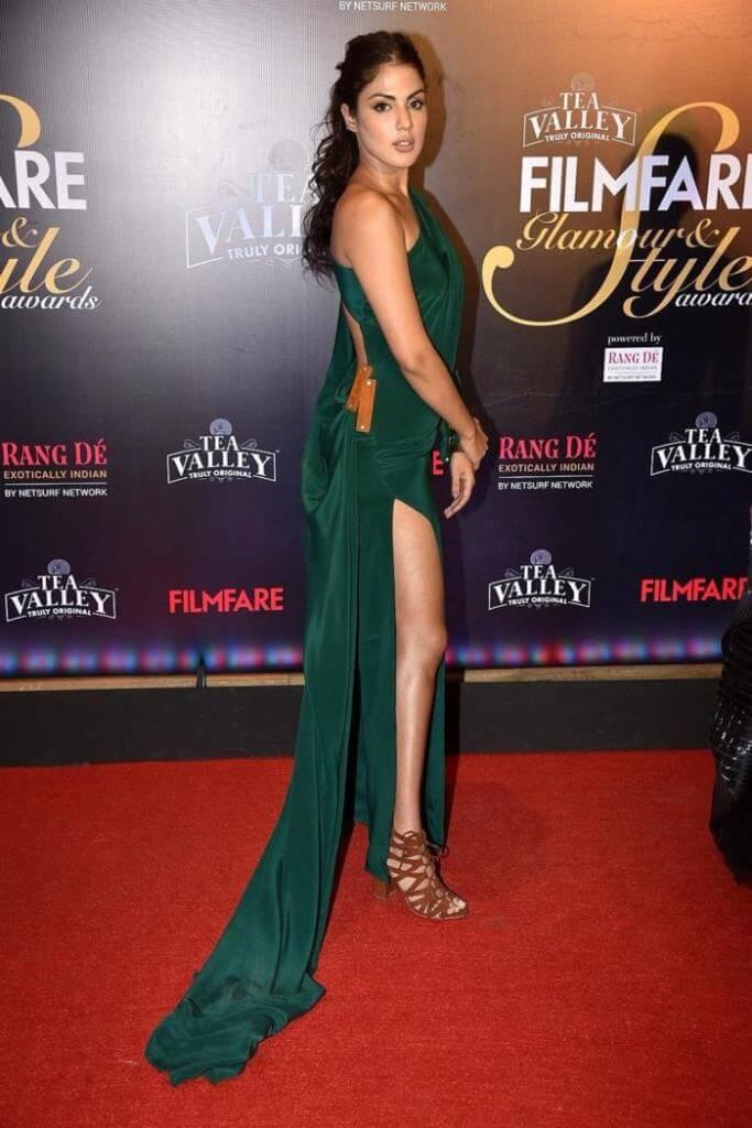 Rhea Chakraborty At Filmfare Awards