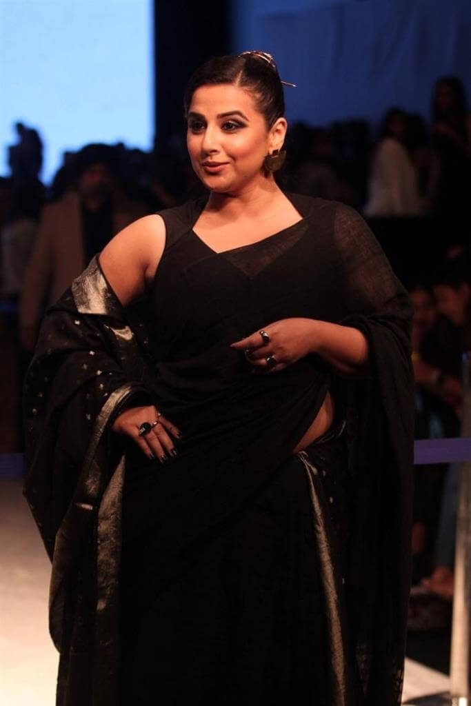 Vidya Balan At Lakme Fashion Week