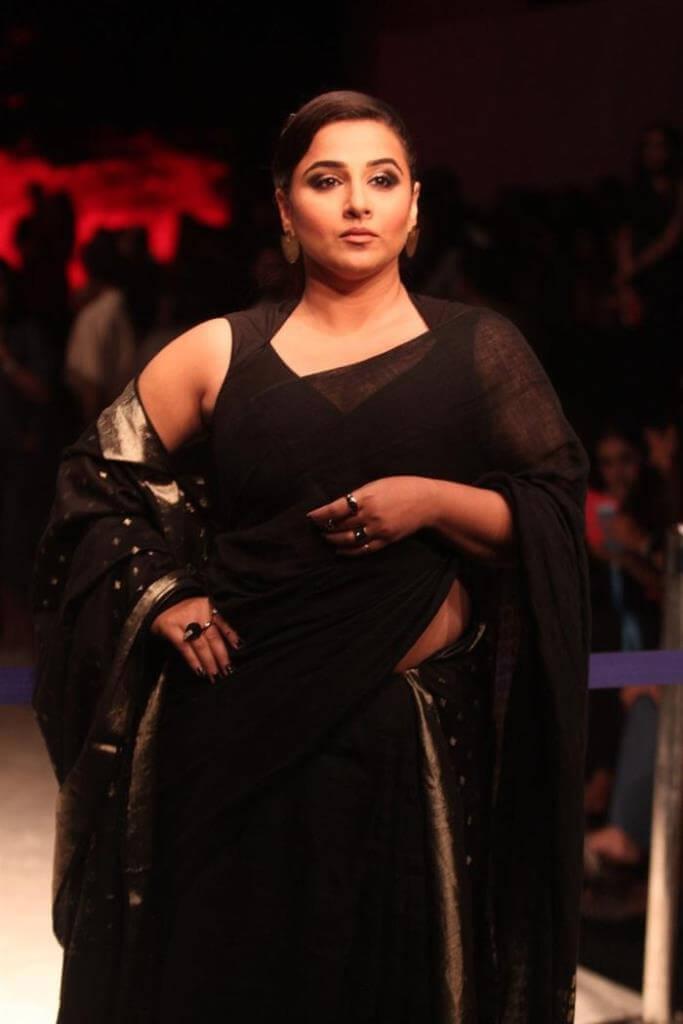 Vidya Balan In Black Saree