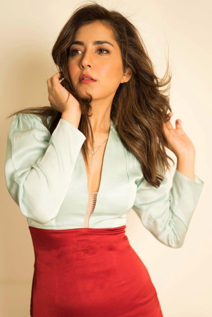 Rashi Khanna In Red Skirt