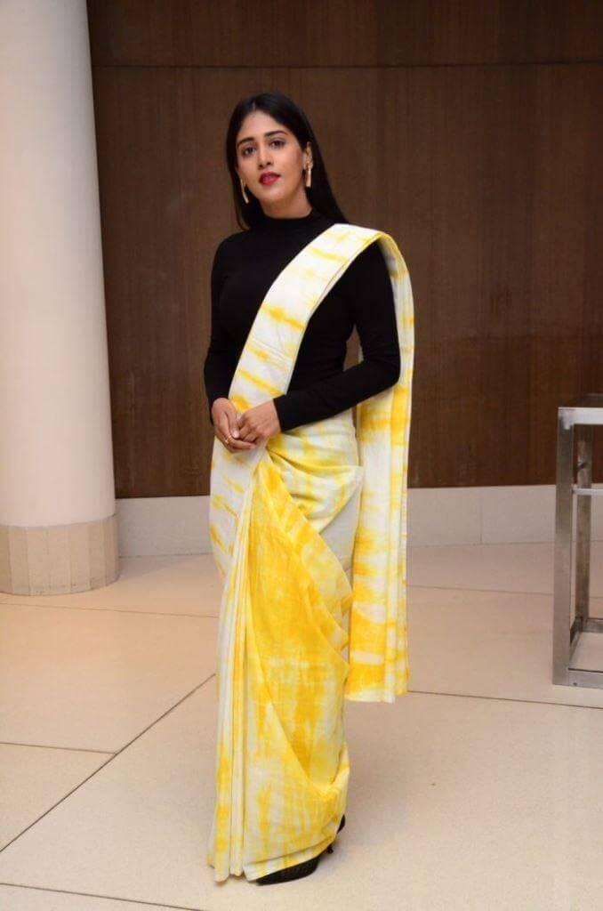 Chandini Chowdary In Black Dress