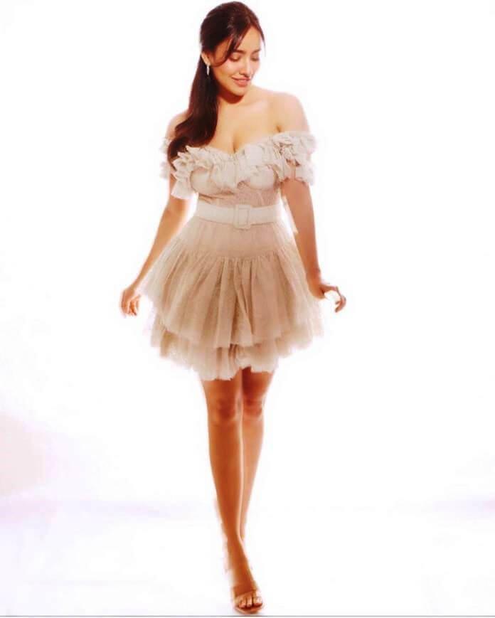 Neha Sharma In Pink Skirt
