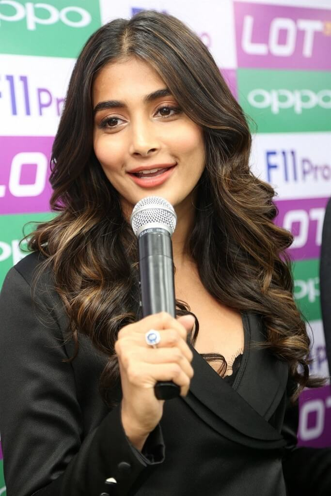 Pooja Hegde In Black Dress