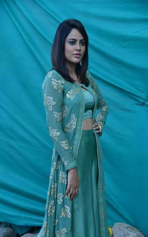 Recent Pics Of Nandita Swetha In Blue Dress