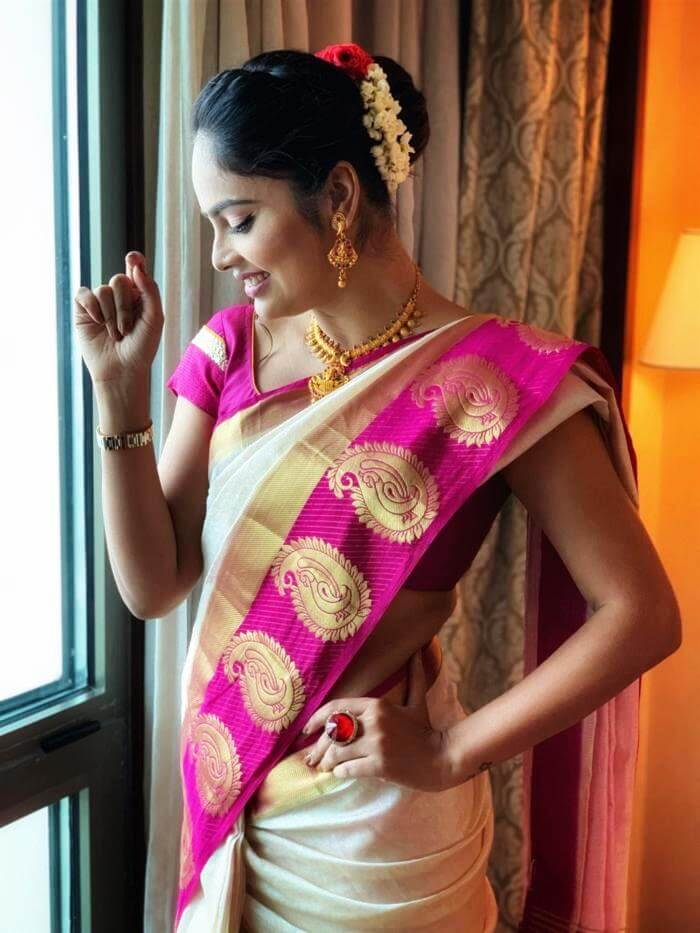 Nandita Swetha In Traditional Saree