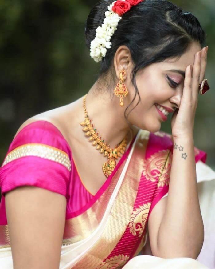 Nandita Swetha In White Saree