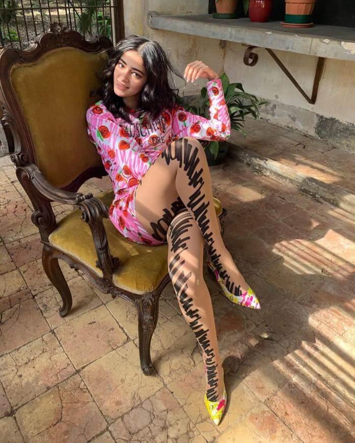 Ananya Pandey Elle Magazine