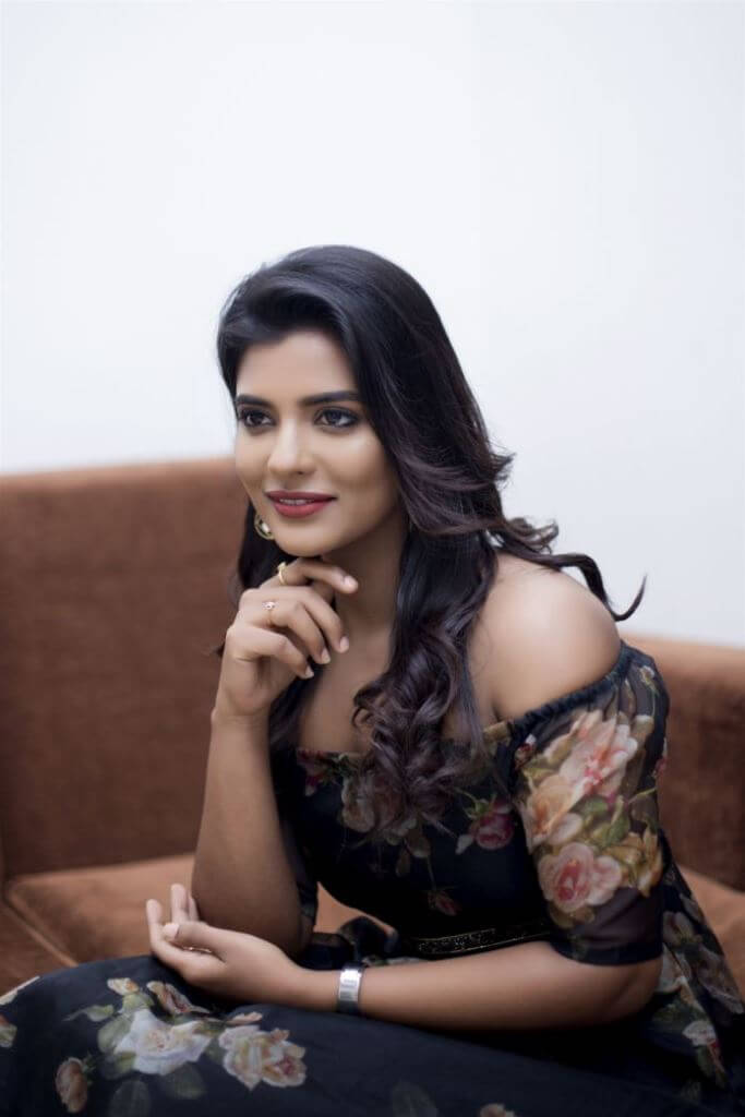 Exclusive Photos Of Aishwarya Rajesh In Floral Dress