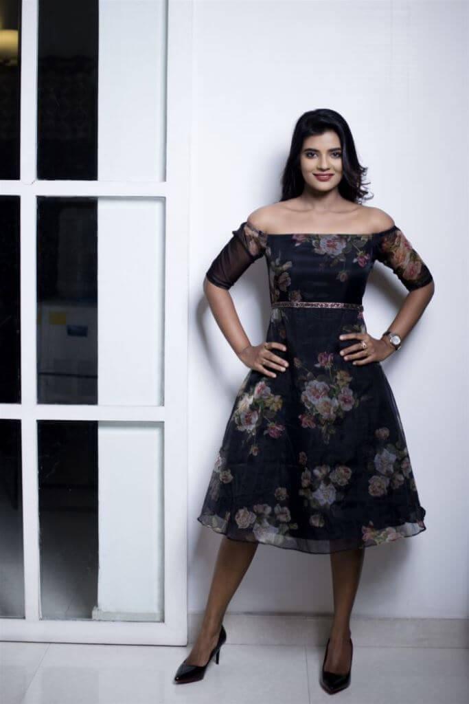 Aishwarya Rajesh At Movie Promotions