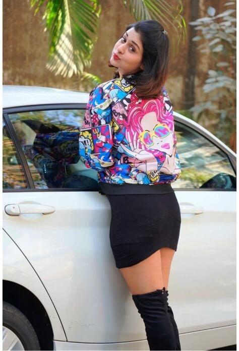 Hot Girl Payal Rajput In Black Short