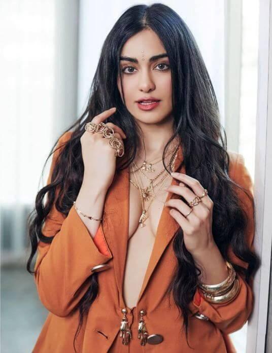 Indian Actress Adah Sharma Cute Pictures