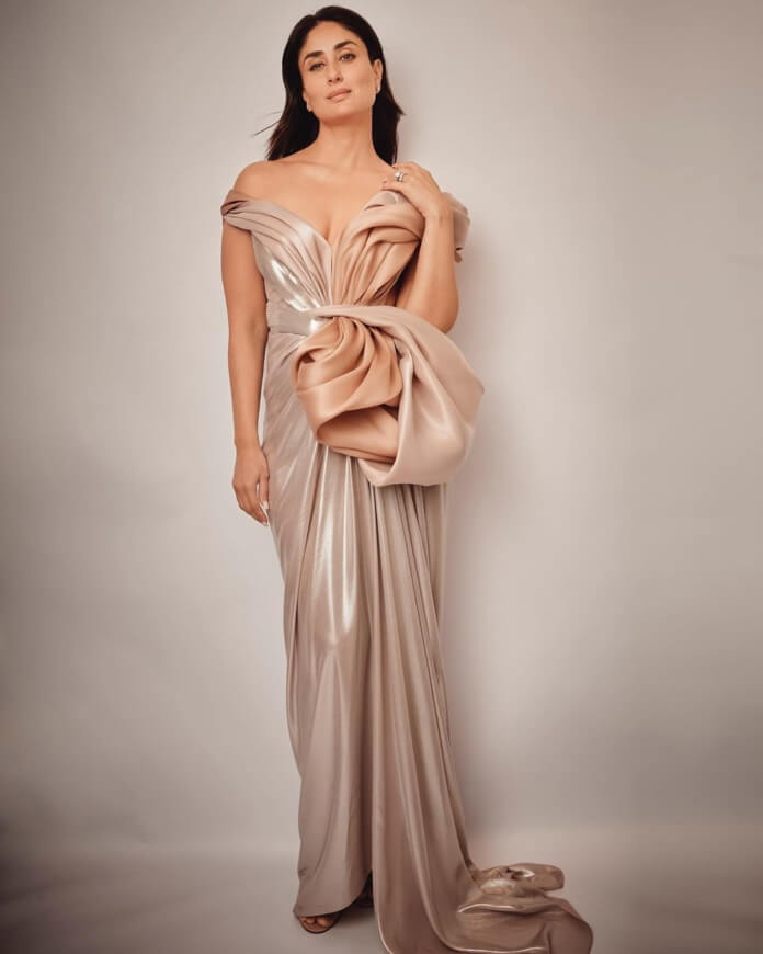 Kareena Kapoor Recent Photos In Pastel Gown