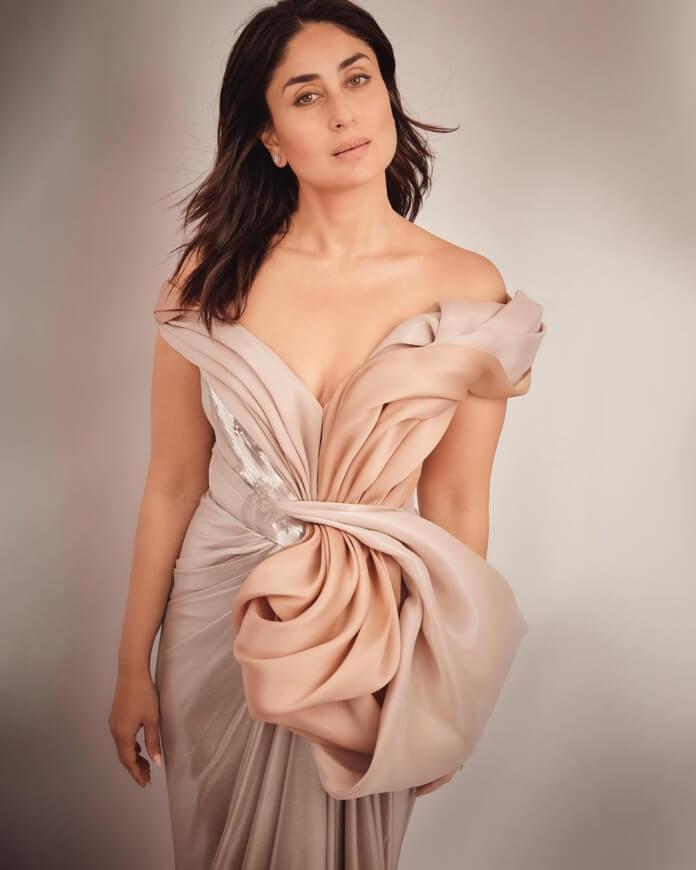Kareena Kapoor In Pastel Gown