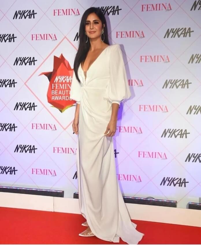 Katrina Kaif In White Gown