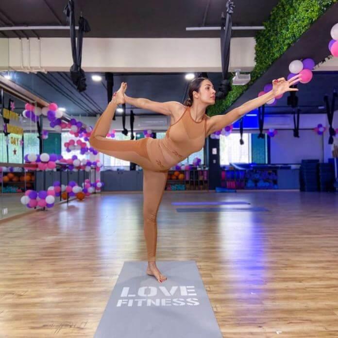 Malaika Arora Workout Stills