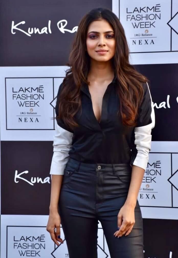 Malavika Mohanan At Kunal Rawal Lakme Fashion Week