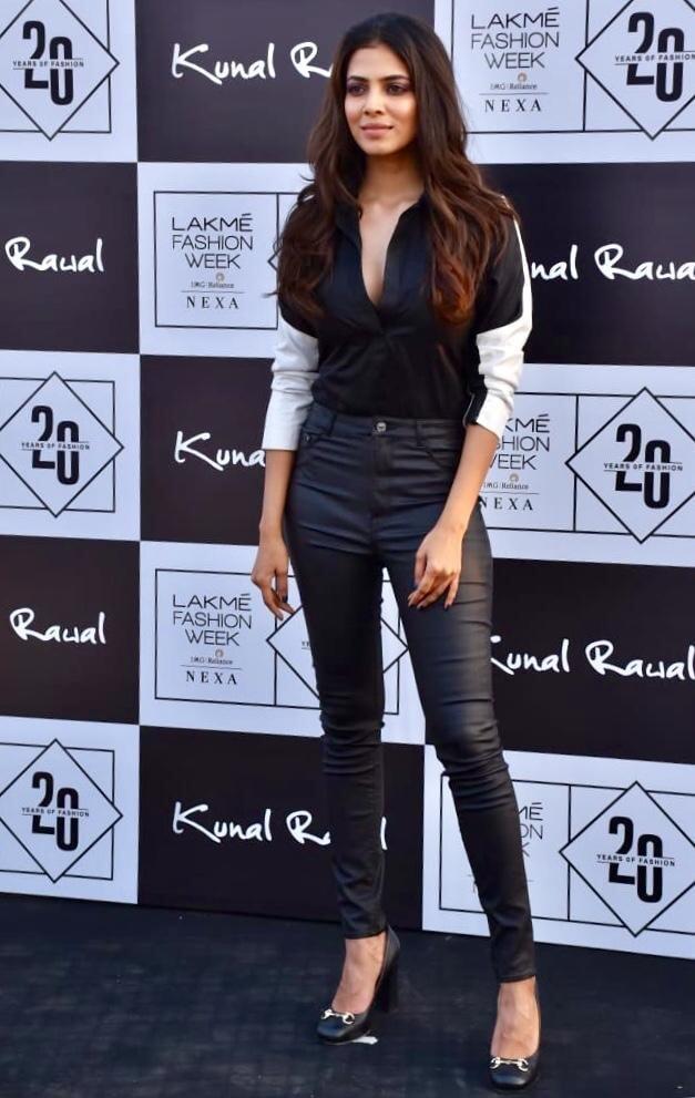 Malavika Mohanan At Lakme Fashion Week