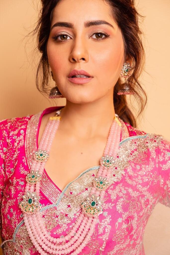 Raashi Khanna At Sangathamizhan Audio