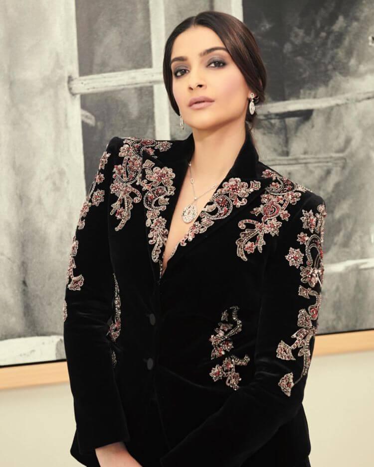 Sonam Kapoor In Peter Dundas suit