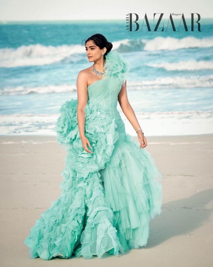 Sonam Kapoor Photoshoot For Bazaar India Magazine