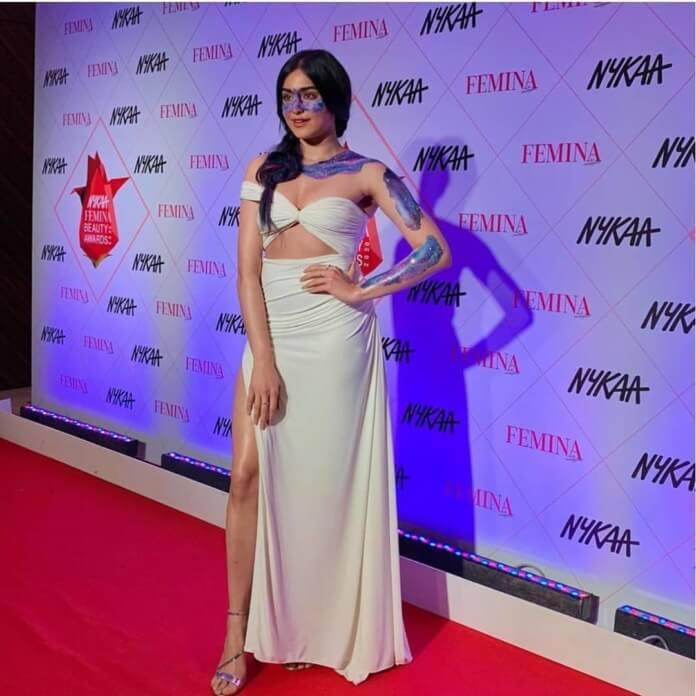 Adah Sharma At Nyka Awards