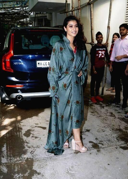 Actress Kajol At Incredibles 2 Screening