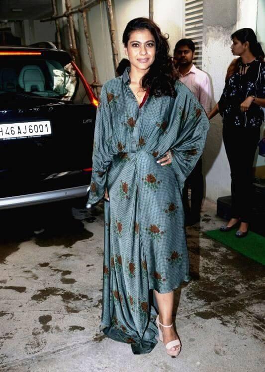 Kajol In designer Dress