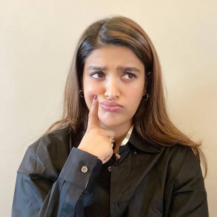 Indian Actress Nidhhi Agerwal