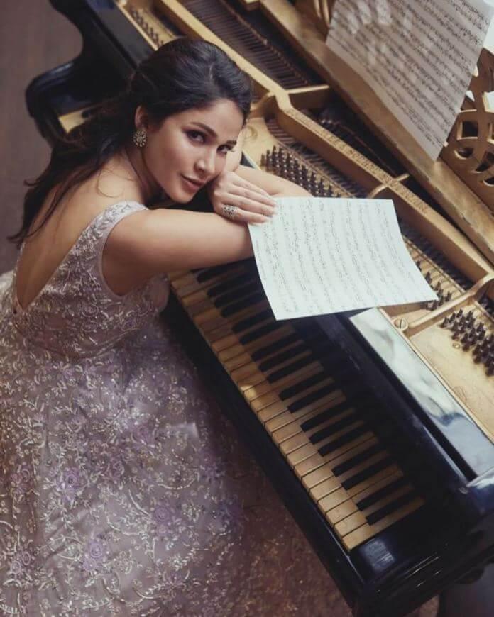 Lavanya Tripathi Recent Pictures In Designer Dress