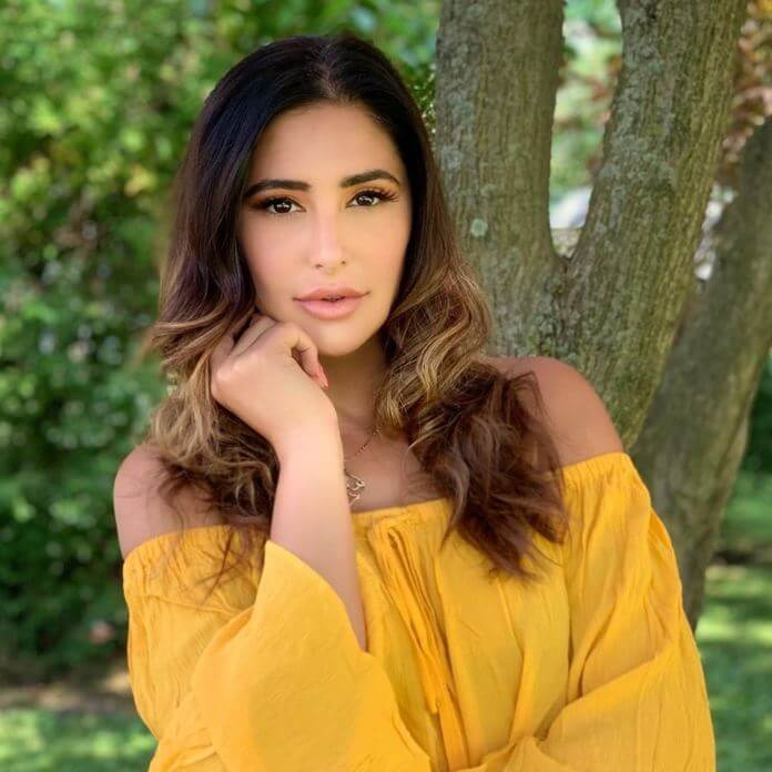 Nargis Fakhri In Yellow Skirt
