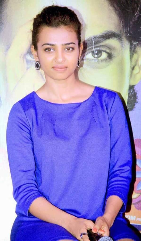 Radhika Apte At Hunterrr Press Meet Function