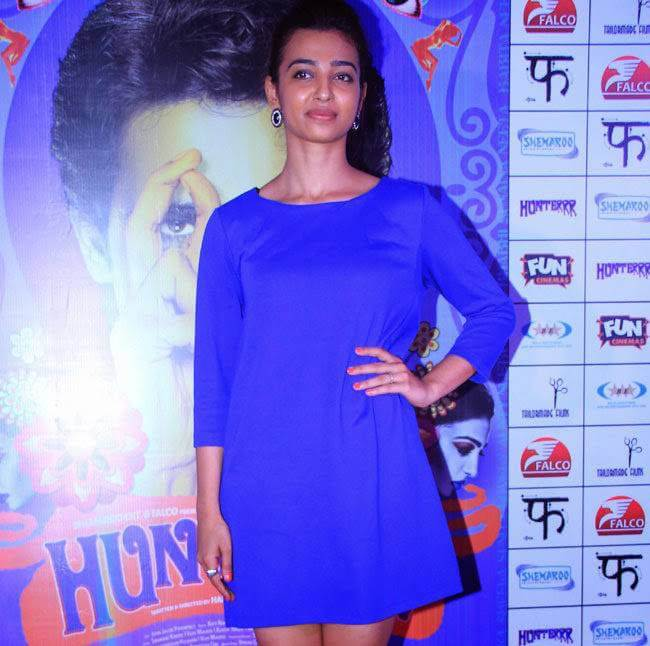 Radhika Apte At Movie Press Meet Function