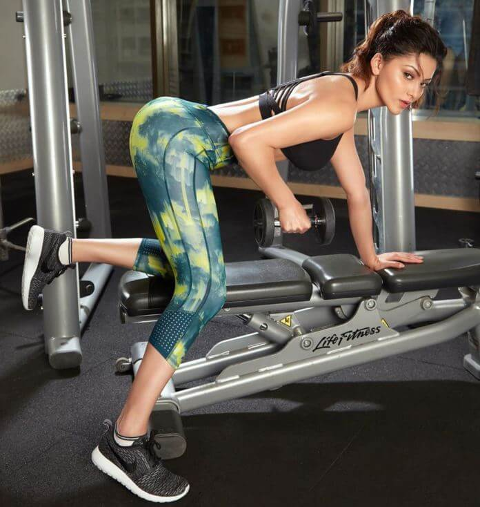Urvashi Rautela Gym Workout
