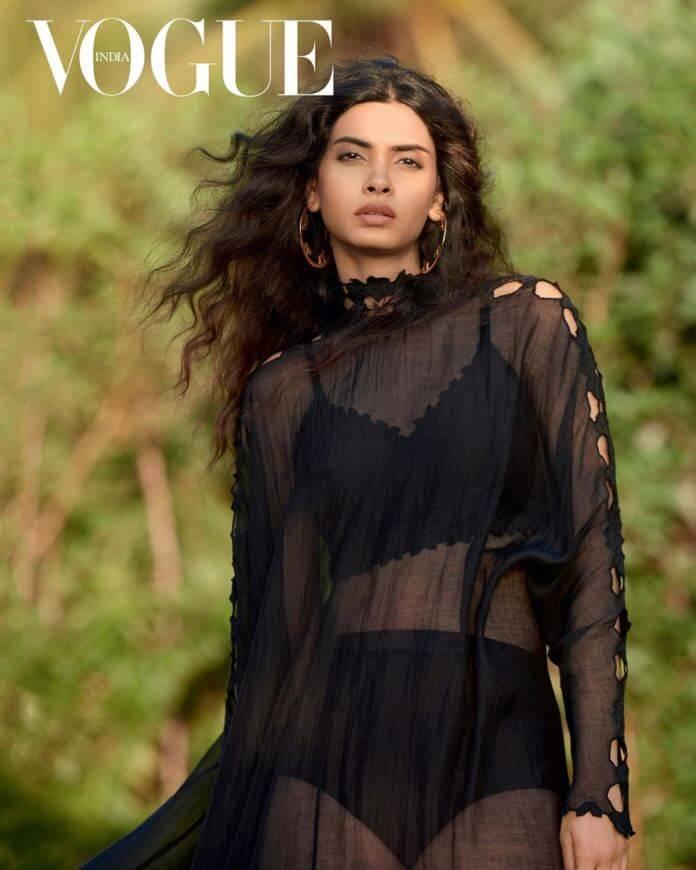 Actress Diana Penty Vogue India Magazine Cover Photos