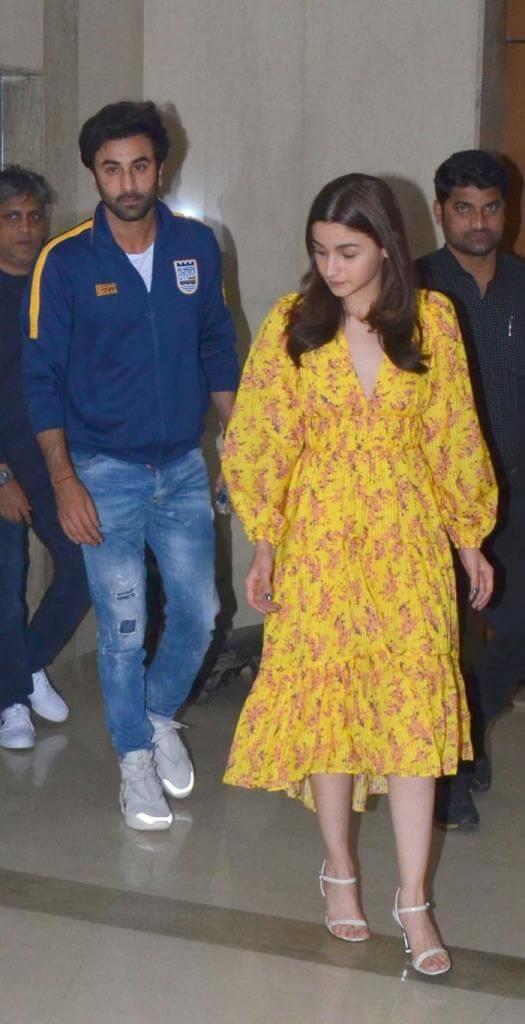 Alia Bhatt At Gully Boy Movie Screening
