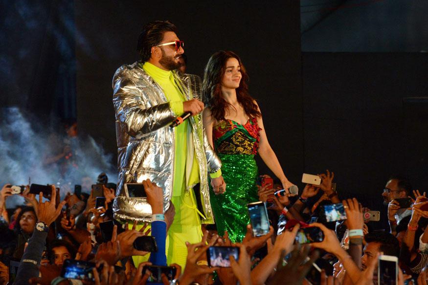 Alia Bhatt In Green Dress