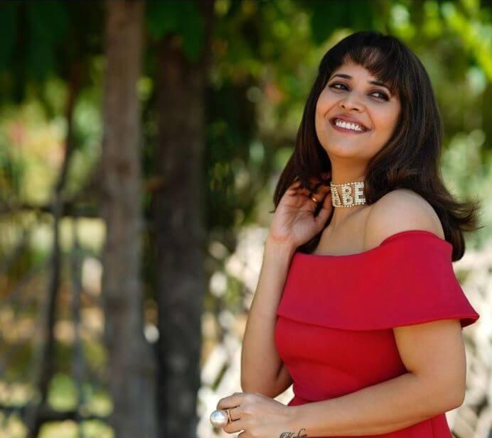 Anasuya Bharadwaj In Jabardasth Show