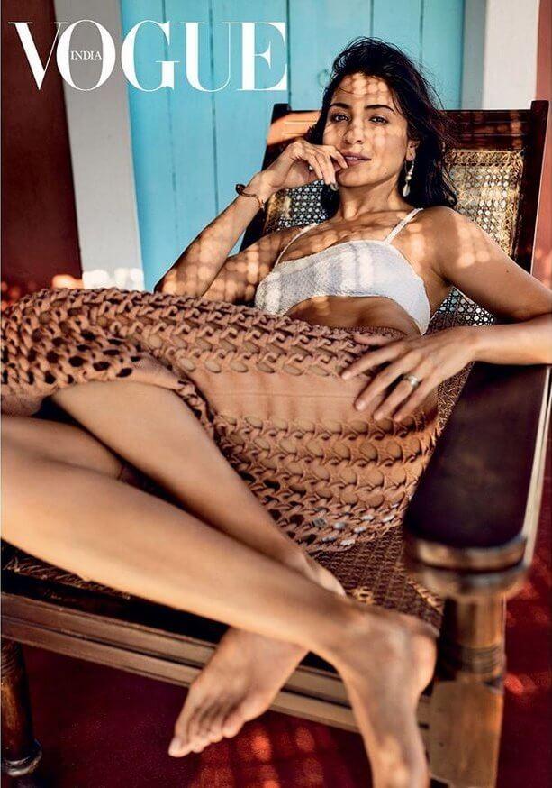 Anushka Sharma in Vogue Magazine