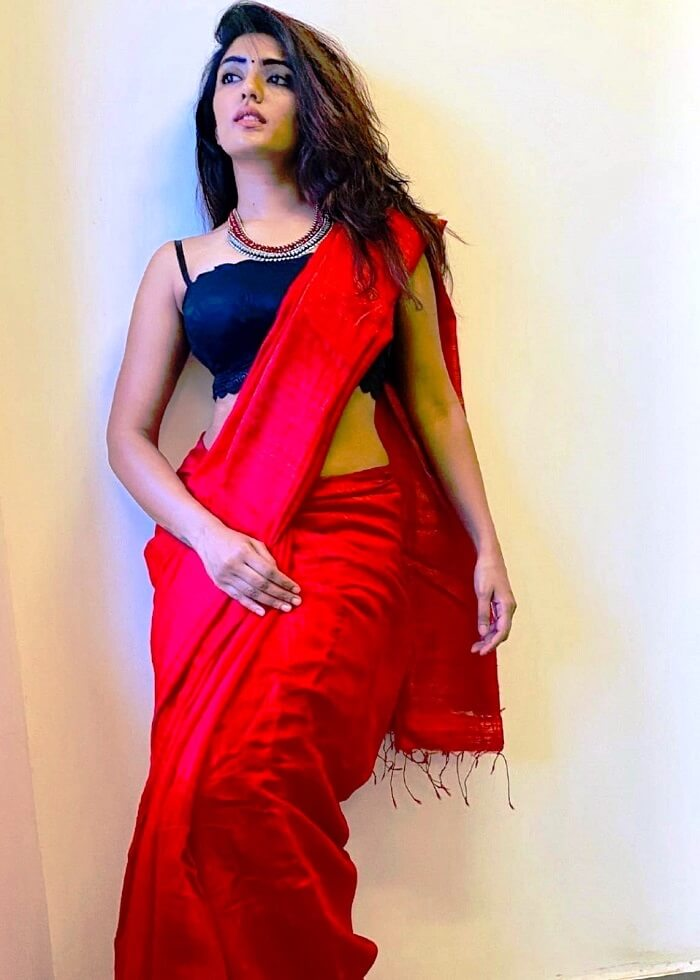 Eesha Rebba In Black Blouse