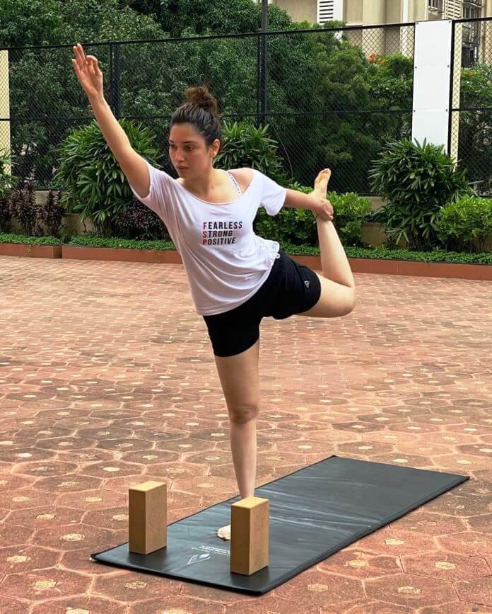 Tamanna Yoga Poses
