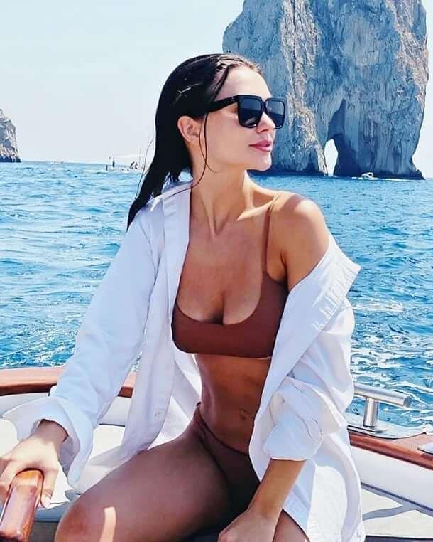 Amy Jackson Bikini Photos