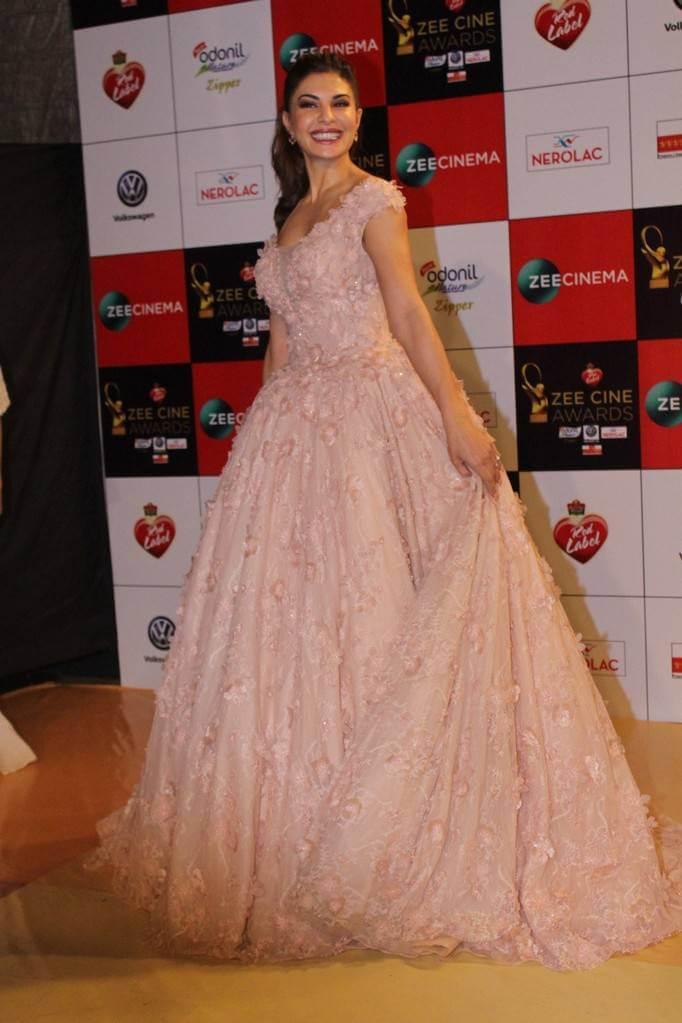 Jacqueline Fernandez In Pink Gown